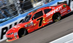 Justin Allgaier's move to JR Motorsports has made him a contender for the NASCAR XFINITY Series championship this year. (HHP/Rusty Jarrett Photo)