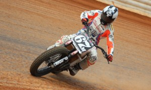 Davis Fisher has joined the Harley-Davidson Screamin' Eagle Factory Team to race in the AMA Pro Flat Track Pro Harley-Davidson GNC1 class. (Adam Fenwick Photo)