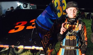 Lucas Ashe is hoping to follow in the foot steps of drivers like Kyle Larson and Rico Abreu.