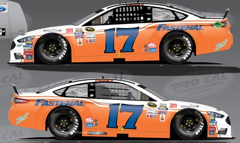 2018---DARLINGTON SOUTHERN 500 THROWBACK PAINT //// 7-DECADES of NASCAR POSTER