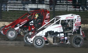 Three POWRi divisions will race at Jacksonville Speedway and Macon Speedway this weekend. (Richard Bales photo)