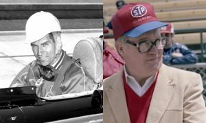 """Paul Goldsmith (left) and U. E. """"Pat"""" Patrick (right) will both be inducted into the Auto Racing Hall of Fame within the Indianapolis Motor Speedway Museum next month. (IMS Photos)"""