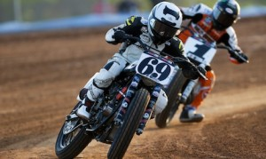The AMA Pro Flat Track series will visit Turf Paradise for the first time May 14. (AMA photo)