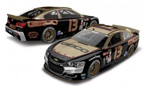 Germain Racing and Casey Mears will honor the late Smokey Yunick with this special paint scheme during the Bojangles Southern 500 on Sept. 4.