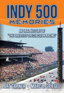 Front Cover INDY 500 MEMORIES 3-29-16