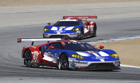 Richard Westbrook And Ryan Briscoe Scored The First Victory For The New  Ford GT On Sunday