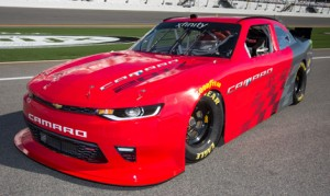 Chevrolet has debuted the new Camaro body that will be campaigned by teams in the NASCAR XFINITY Series beginning in 2017. (Chevrolet Photo)