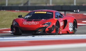 Jon Fogarty and the GAINSCO team have been breaking in the new McLaren 650S in the Pirelli World Challenge this season.