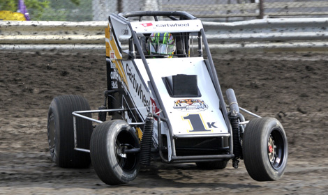 Kyle Larson Won Twice Last Week, Including Once In USAC National Midget  Series Competition At
