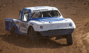 Jeremy Stenberg on-track in his Lucas Oil Off-Road Racing Series entry.