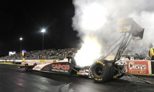 Steve Torrence was the No. 1 Top Fuel qualifier Friday at Sonoma Raceway. (NHRA photo)