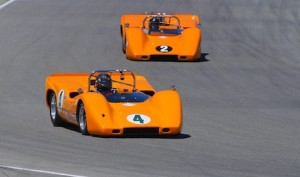 The famed McLaren Can-Am cars.