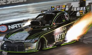Alexis DeJoria has been cleared to return to racing during the upcoming U.S. Nationals. (Gary Nastase photo)