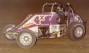 Doug Wolfgang at the wheel during the 1980 racing season. (Paul Arch Photo)