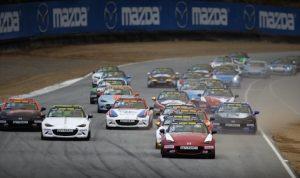 The Global Mazda MX-5 Cup Invitational will be held Sept. 9-11 at Mazda Raceway Laguna Seca.