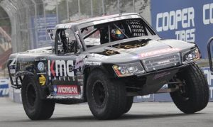 Russell Boyle in a Stadium SUPER Truck (Ryan Dupont Photo)