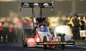 Doug Kalitta is enjoying the hunt for his first NHRA Top Fuel championship this year. (NHRA Photo)