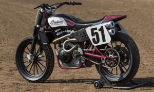 The Indian Scout FTR750 will debut at the Santa Rosa mile with Joe Kopp set to ride Indian's Flat Track effort. (Indian Photo)