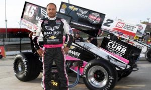 Donny Schatz will join Clauson-Marshall Racing to enter his first Chili Bowl in 2017. (Frank Smith Photo)