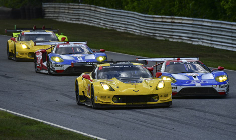Corvette Racing Is Battling Chip Ganassi Racings Ford Gt