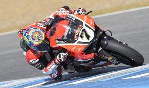 Chaz Davies scored his fourth-straight World Superbike victory on Sunday at Circuito de Jerez. (Ducati Photo)