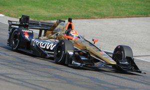 James Hinchcliffe was one of seven Verizon IndyCar Series drivers to take part in a Firestone tire test on Thursday at Gateway Motorsports Park. (Don Figler Photo)