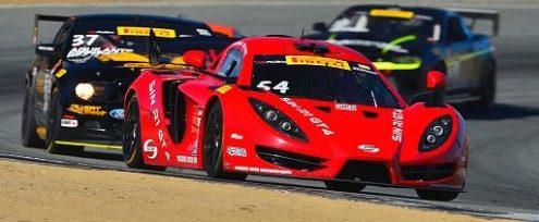 Scott Heckert collected his second Pirelli World Challenge GTS class victory of the season on Sunday at Mazda Raceway Laguna Seca. (PWC Photo)