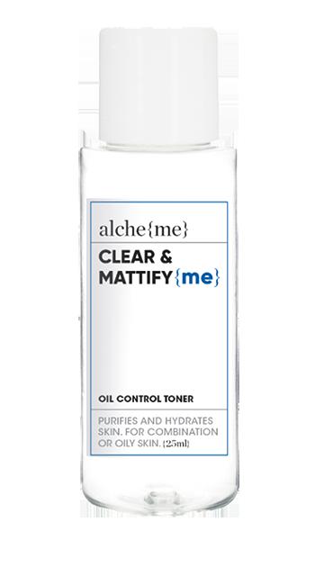 CLEAR & MATTIFY {me} (Acne+Oil Control Toner)