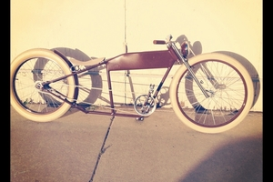 One of a kind custom stretched cruiser