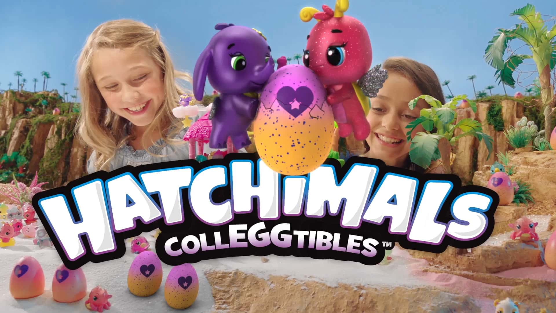 Hatchimals | Troplical Party Playset