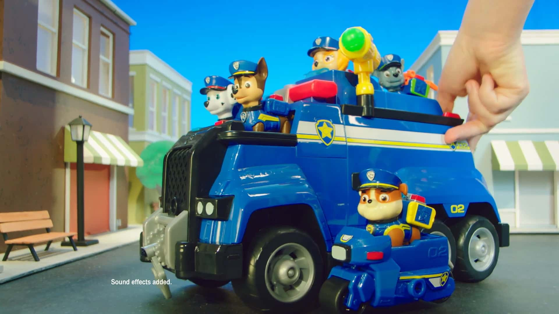PAW Patrol | Ultimate Rescue Cruiser and Helicpote