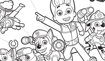 Group Coloring Sheet