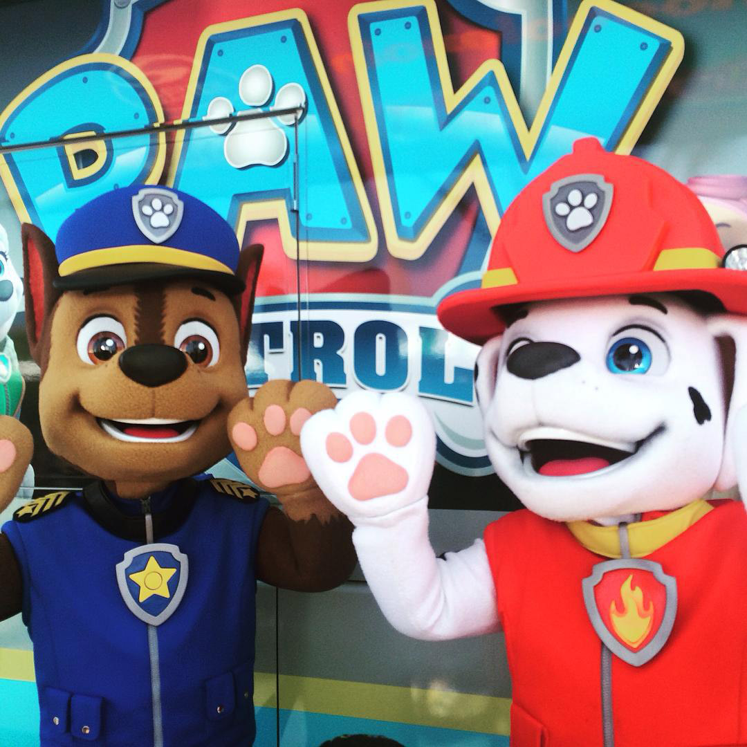 Upcoming events and tours paw patrol m4hsunfo