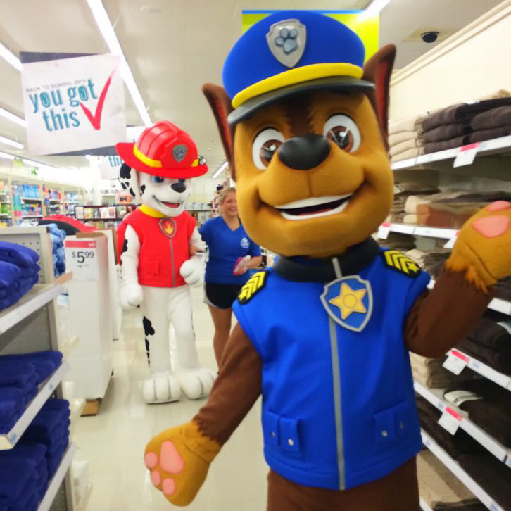 Upcoming Events and Tours   PAW Patrol