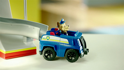 Paw Patrol Deluxe Transforming Vehicles For Marshall And Chase Tv