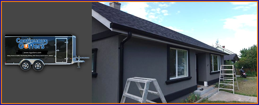 Interior Continuous Gutters Is A Gutter Company In