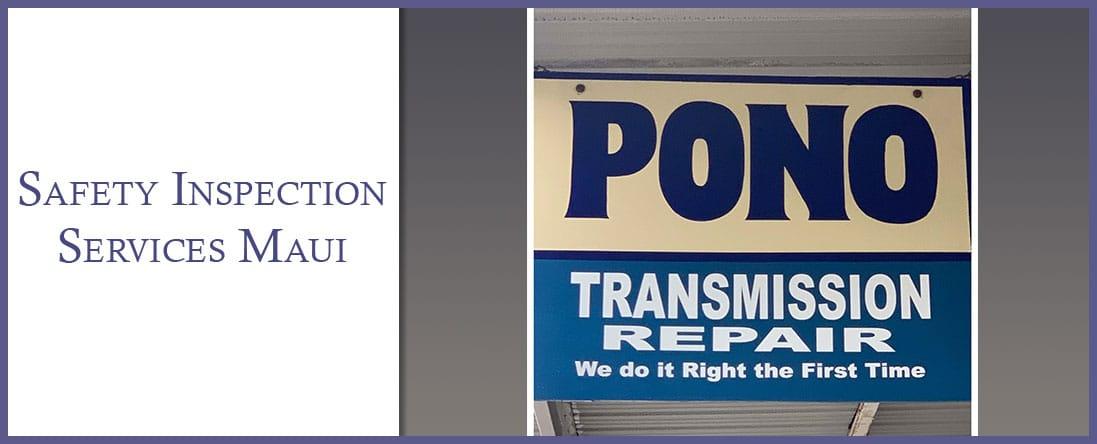 Pono Transmission and Repair