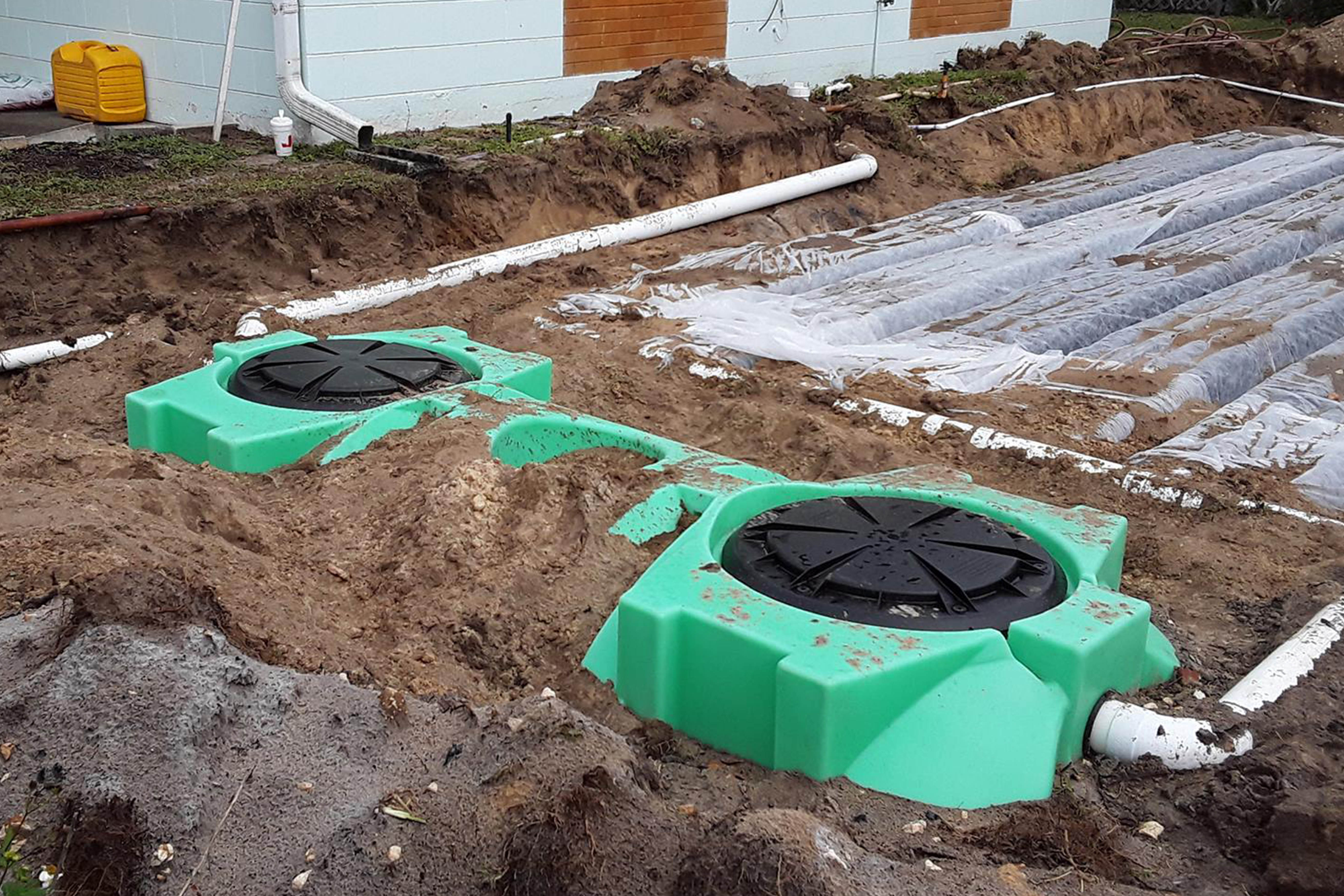 Trails End Septic Offers Drain Field Installation In Titusville Fl
