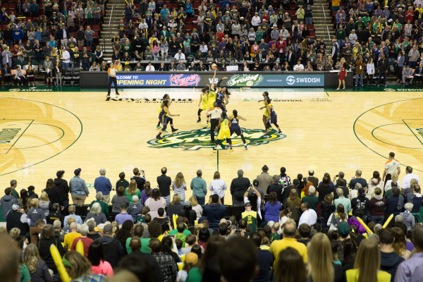 Seattle Storm Powered By Spinzo
