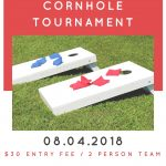 Cornhole Tournament at Parish Festival – August 4, 2018