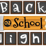 Back To School Night – August 28, 2018 5pm-7pm