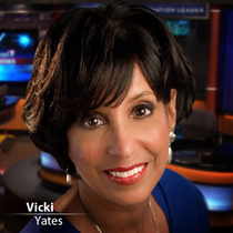 Vicki Yates, Newscaster, WTVF-TV