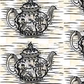 Grecian Teapot in Natural