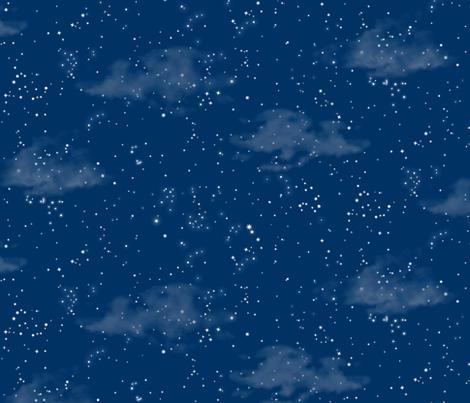 Summer Night Sky fabric by forest&sea on Spoonflower - custom fabric