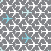 Blue Planes and Grey