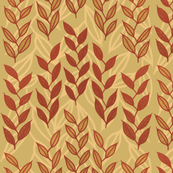 Layered Minoan grasses on yellow ocher by Su_G_©SuSchaefer