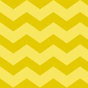 Wide Yellow Chevron