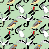 Bird Type Green