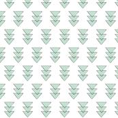 mint triple triangle repeat