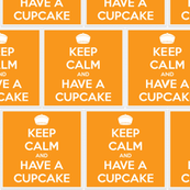 Keep Calm Have a Cupcake - panel